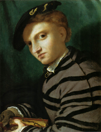 Zecco Lorenzo Lotto - Portrait of a young boy